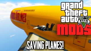 GTA 5 PC Mods | PLANE SAVING ATTEMPTS | Nice Fly Mod / Inner Force Mod | GTA V Funny Moments