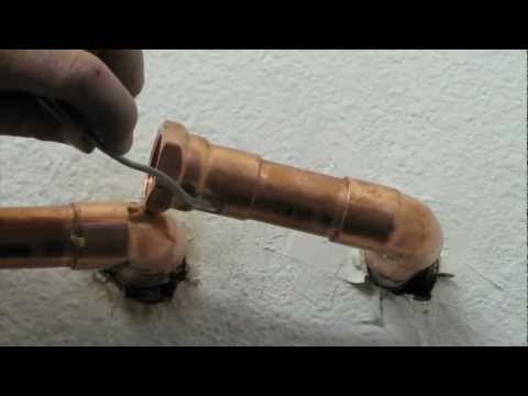 DIY - How to Solder Copper Pipe