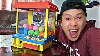 BOUGHT A HACKED CLAW MACHINE!!! (100% JACKPOT WIN RATE)