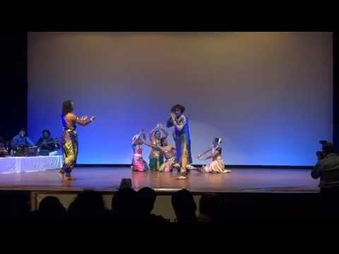 Tillana Fusion of Kathak Bharatnatyam and Kuchipudi at IGCIC...