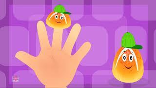 bollos dedo familia | Buns Finger Family | Nursery Rhyme Kingdom Tv Español | Canciones
