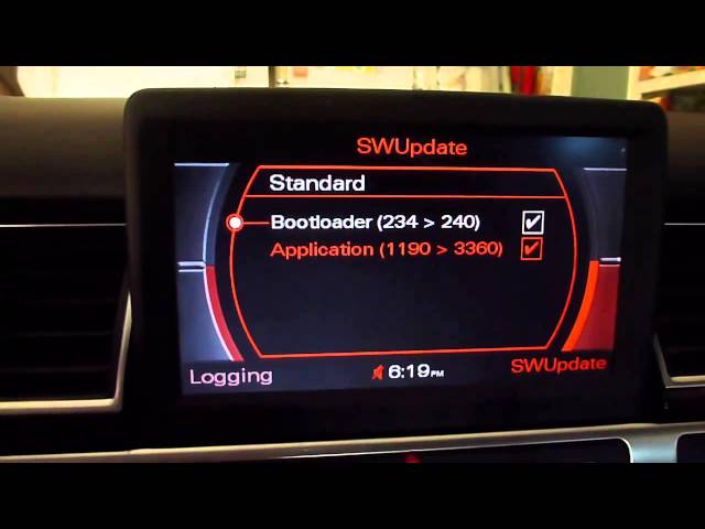 Update MMI Software From 1190 To 3360 On 2006 Audi A8 ...