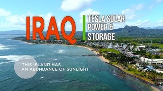 LIVET TESLA SOLAR POWER PLANTS, SOLAR ROOFS & ELECTRIC CARS IRAQ 2017
