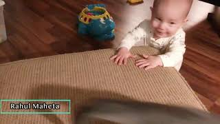 Cute Baby and Cat - Funny Baby Video - Cats and Dogs