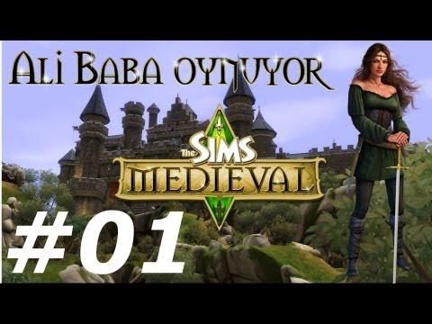 Oynuyoruz - Let's Play Sims Medieval (Türkçe) (Sims 3 büçük) Bölüm #01 - Yeni bir çağ