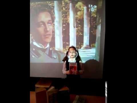 Страна читающая— Рысянина Мария читает произведение «Снег да снег» А.А.Блока