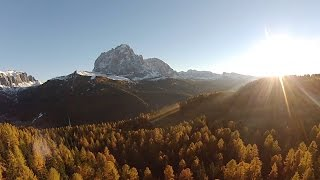 AUTUMN SUNSET ON JUAC - DOLOMITES - DJI F450 FPV
