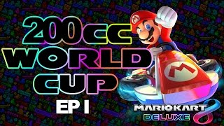 RACING WITH THE BEST - Mario Kart 8 Deluxe 200cc World Cup #1