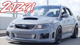 "2JZ Subaru WRX ""SupraRu"" - The Most Reliable Subaru Ever?!"