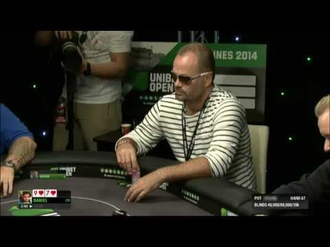 Table Finale Unibet Open Cannes 2014 - Live Streaming