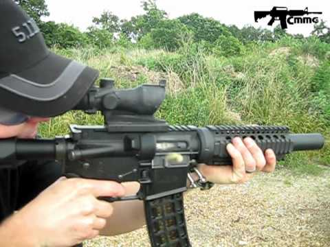 CMMG Full Auto Trip & Anti Bounce Demo