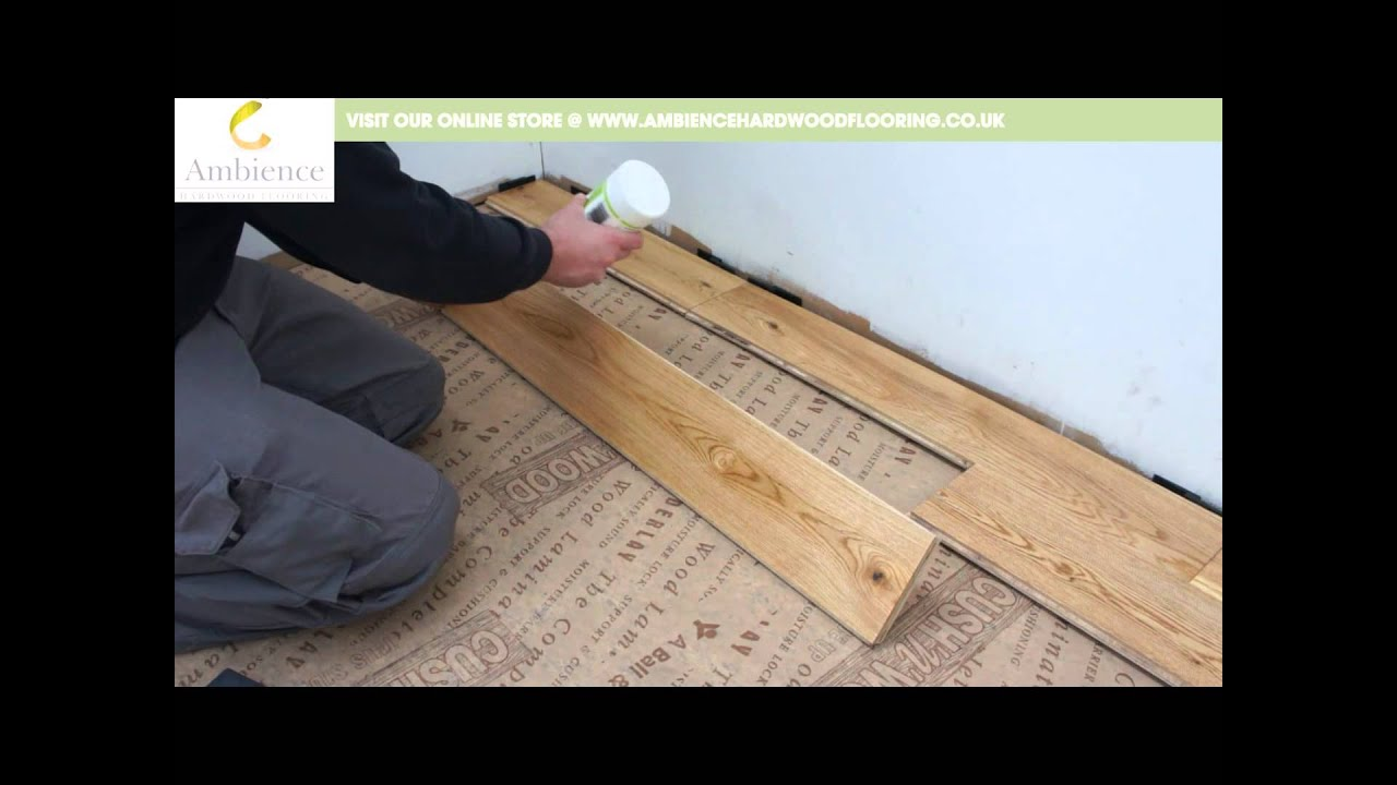 How To Install Engineered Tongue Amp Groove Flooring Youtube