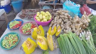 Laos , Local Market - Laos Street Food 2018