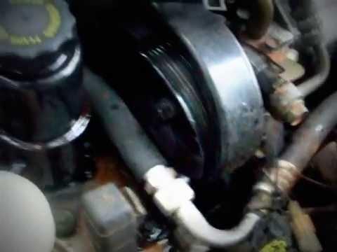 Blown Mazda Power Steering Pump Youtube