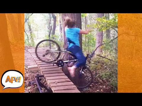 Play this video If You FALL In the Forest, Can Anyone Hear You FAIL?! Пё  Best Funny Fails  AFV 2021