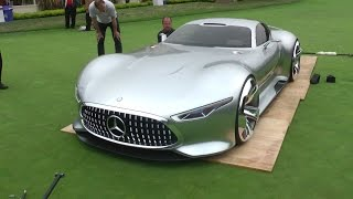 Mercedes AMG Vision Concept: Never seen a car loaded like this!
