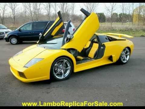 Lamborghini Murcielago Replica Kit Car Turn Key Lp640 Quot Aventador Yellow Quot Youtube