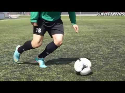 Футбольные финты известных игроков ОБУЧЕНИЕ HD