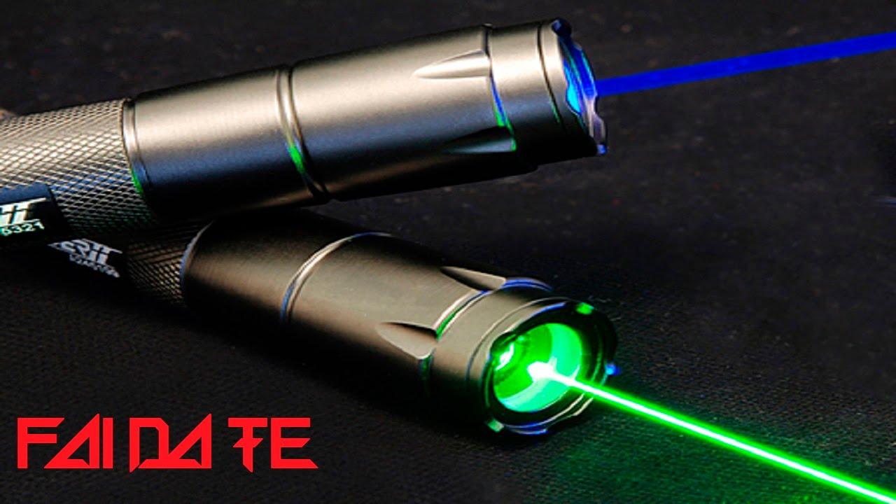 Costruire un potente Laser ( Fai da Te )