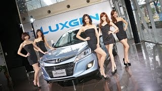 2014台北車展Luxgen Girls亮麗登場