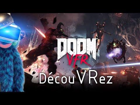 DécouVRez : DOOM VFR | FULL locomotion | Aim + PS Move + Dualshock + Subpac M2 (PSVR) | VR Singe