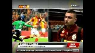 Burak Yılmaz'dan Cristiano Ronaldo açıklaması | Real Madrid 3-0 Galatasaray