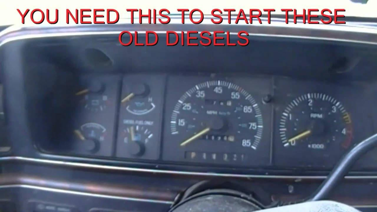 ford   diesel glow plug override kit youtube