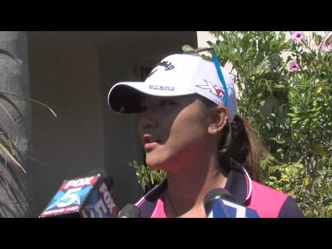 Lydia Ko 1st Round Interview from the 2015 Kia Classic