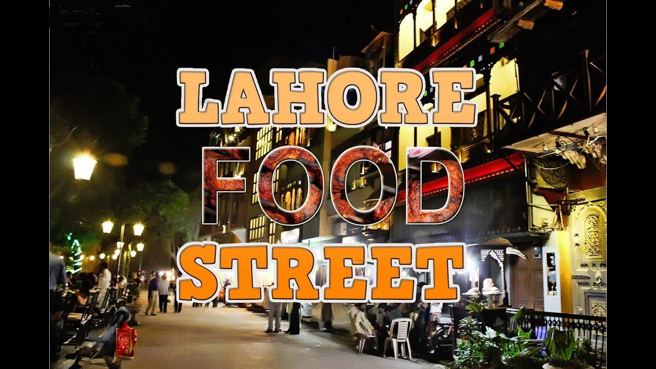 New Food Street Lahore