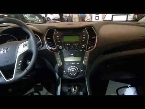 interior Nueva Hyundai SantaFe 2014 versión para Colombia FULL HD