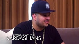 KUWTK | Kardashian Sisters Confront Rob About Surprise Engagement | E!