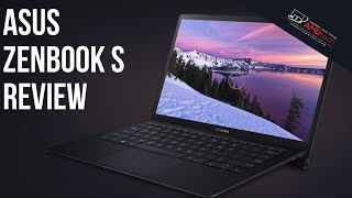 Asus ZenBook S UX391UA Review: Ultraportable Laptop with 4K Display