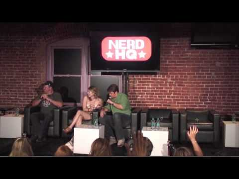 Nerd HQ 2011 - Nathan Fillion, Adam Baldwin, Jewel Staite