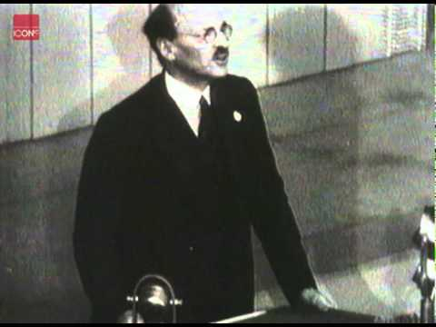 Clement Attlee, British Prime Minister Speaking at the United Nations