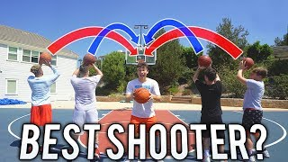 2HYPE BEST BASKETBALL JUMPSHOT CHALLENGE!