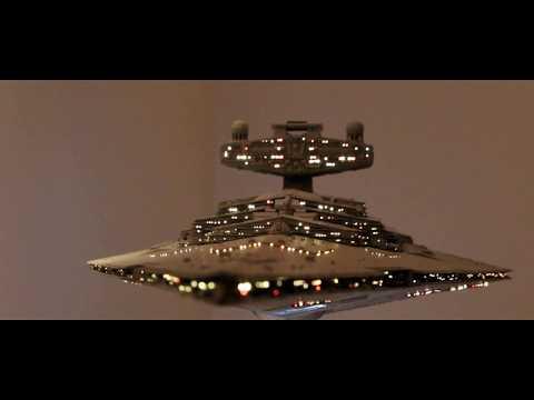 1/2700 IMPERIAL STAR DESTROYER V2 - finished model & base