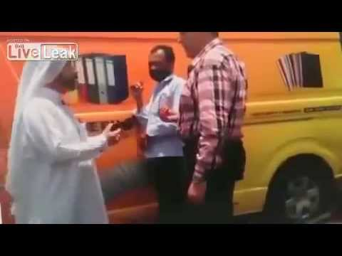 Emirati on an Indian Man Mistake Road Accident in Dubai