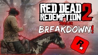 Red Dead Redemption 2 Trailer Breakdown