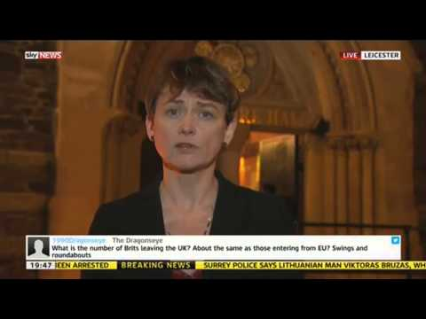Yvette Cooper MP On Immigration Reform