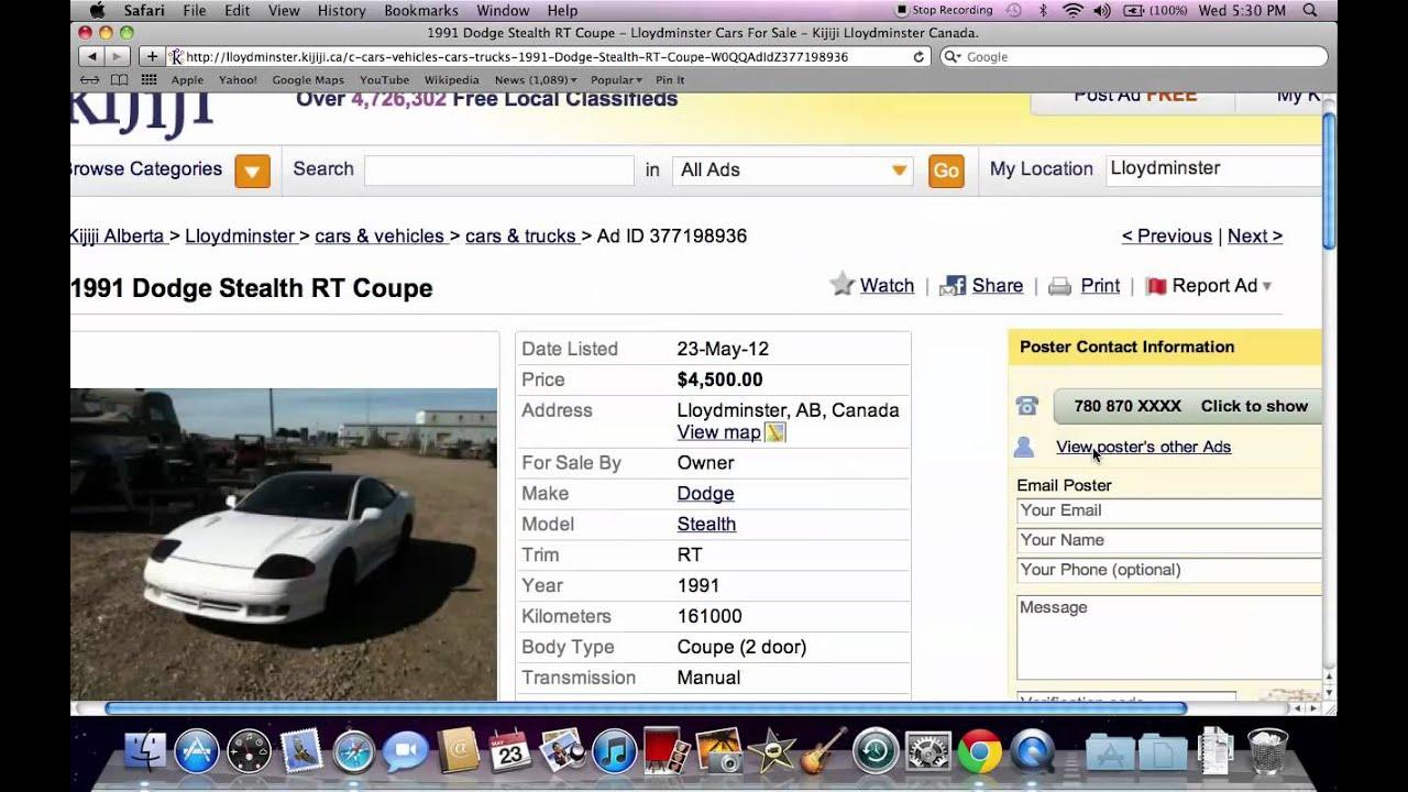 Kijiji Lloydminster Canada Used Cars And Trucks Under 2000 In Alberta In 2012 Youtube