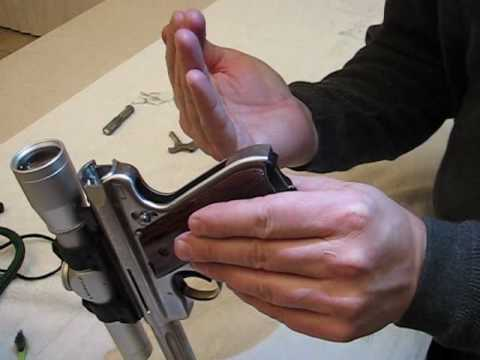 Ruger Mark III Field Stripping Part 2 of 3
