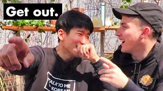 🇰🇷When Ollie Meets the Korean Textbook Author...