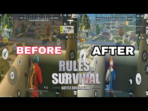 Squad game on Rules of Survival #PATCH UP 06/13/18 on ROS make game better.