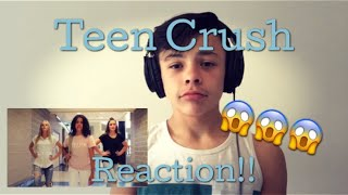 Reacting to Teen Crush- The Ohana Adventure (Official Music Video)