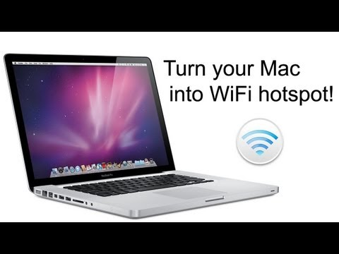 Use Your Mac as a Wi-Fi Hotspot