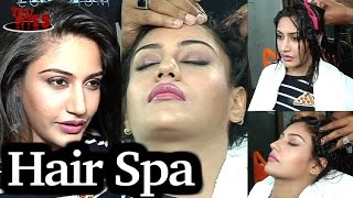 EXCLUSIVE | Surbhi Chandna ENJOYs her HairSpa with Tellybytes