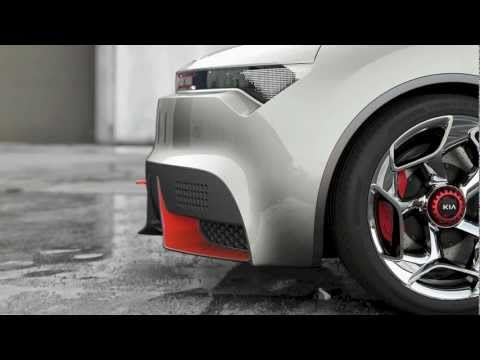Kia Radical Provo Concept from Geneva 2013 - 10 second car video