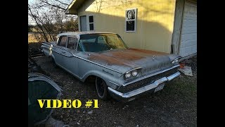 Part 1 Will It Run? 1959 Mercury Monterey: Asleep For A Decade