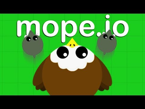 AMAZING New BALD EAGLE ANIMAL! - Mope.io Gameplay