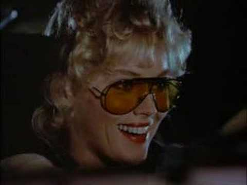 Sharon Stone in Magnum PI, with Blade Runner end title music